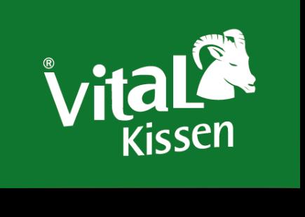 Hüftkissen - Sitzkissen - Nackenkissen - VitaL-Kissen -Logo